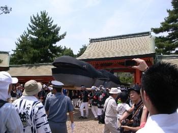 7月24日大鯨正面へ.jpg